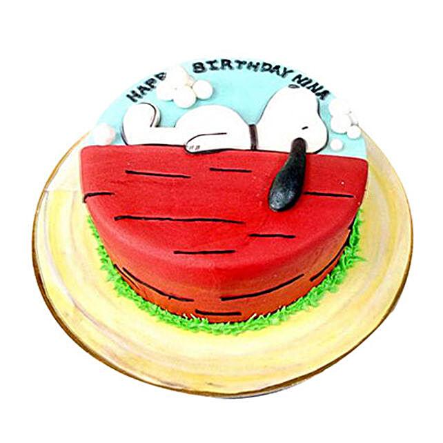 Snoopy Cake: Cartoon Cakes to UAE
