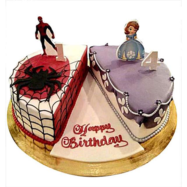 Sofia Spider Man Cake: Spiderman Cakes