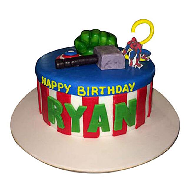 Superhero Cake: Spiderman Cakes