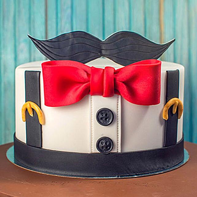 The Gentleman Cake 3 Kg: Designer Cakes in UAE