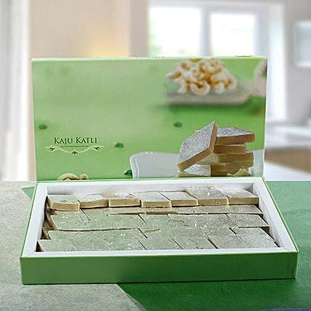 Delicious Kaju Barfi: Sweet Delivery in UAE