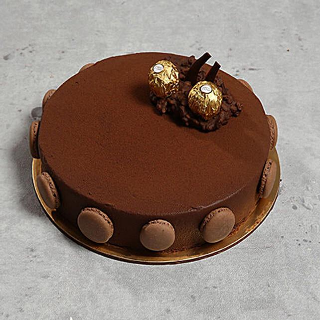 Ferrero Rocher Cake: