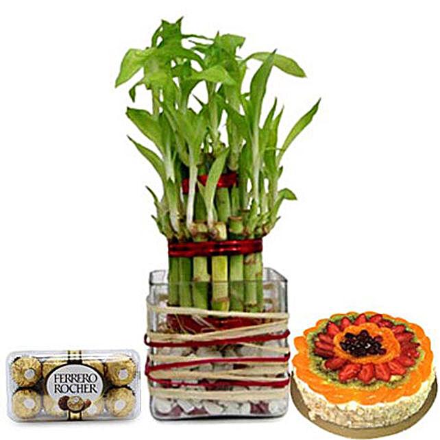 Lucky Sweet Combo: Gift Baskets to UAE