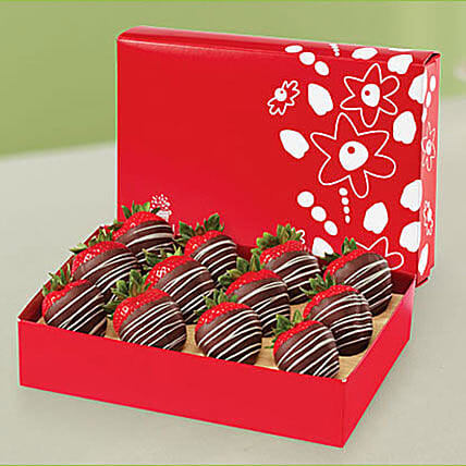 Swizzle Berries Semisweet Chocolate: Send Corporate Gifts to UAE