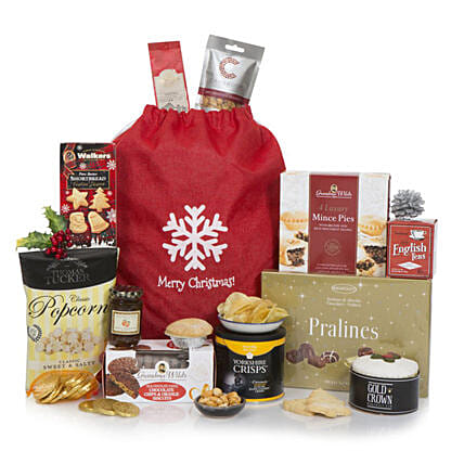 Festive Favourites Hamper: Send Christmas Gifts to UK