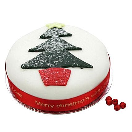 Christmas Tree Fruit Cake: Christmas Gifts UK