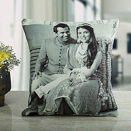 Memories Forever Personalized Cushion: Personalised Cushions to USA