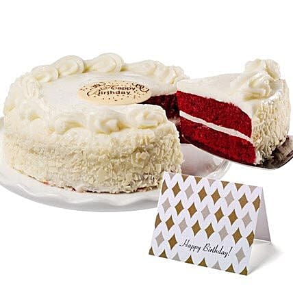 Red Velvet Chocolate Cake Gift Delivery In San Diego