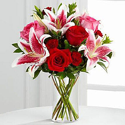 My Darling Bouquet: Valentine Flowers to USA