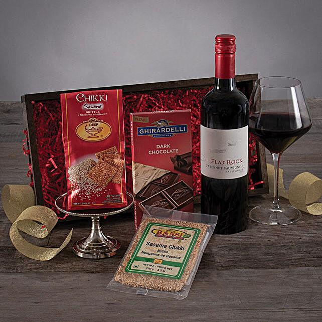 Flat Rock Cabernet Treat: Send Birthday Gifts to USA