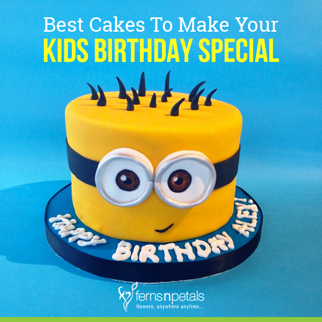 Prime Best Cakes To Make Your Kids Birthday Special Personalised Birthday Cards Veneteletsinfo