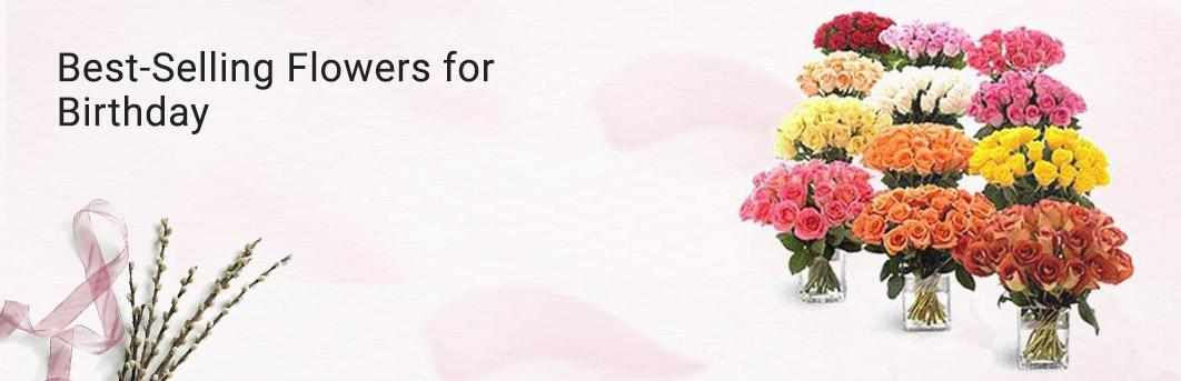 Bestselling Flowers for Birthday