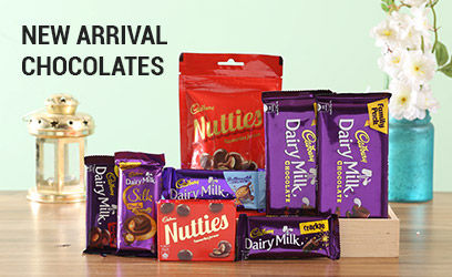 new arrivals chocolates
