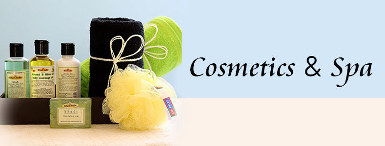 cosmetics & spa hampers for her