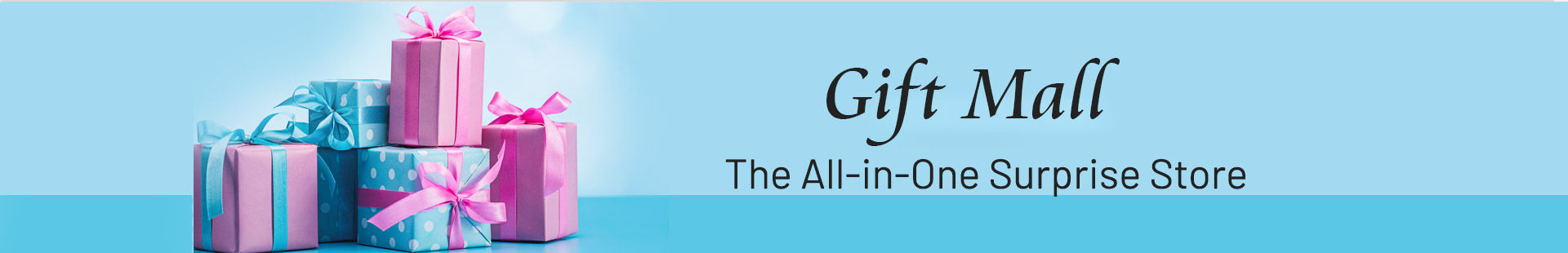 find gifts at one place
