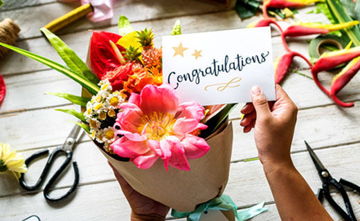 Congratulation Flowers