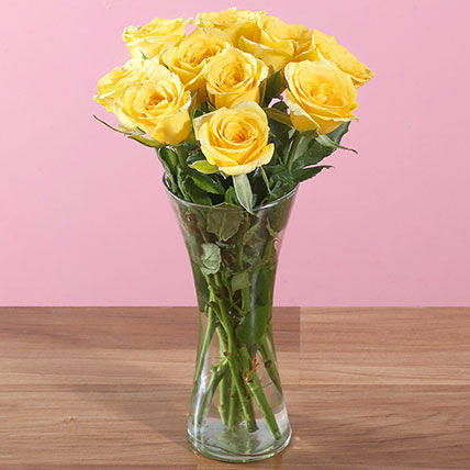 Bright Sunshine Roses
