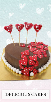 Cakes Valentine's day delivery