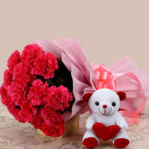 Flowers N Teddy Bear Online