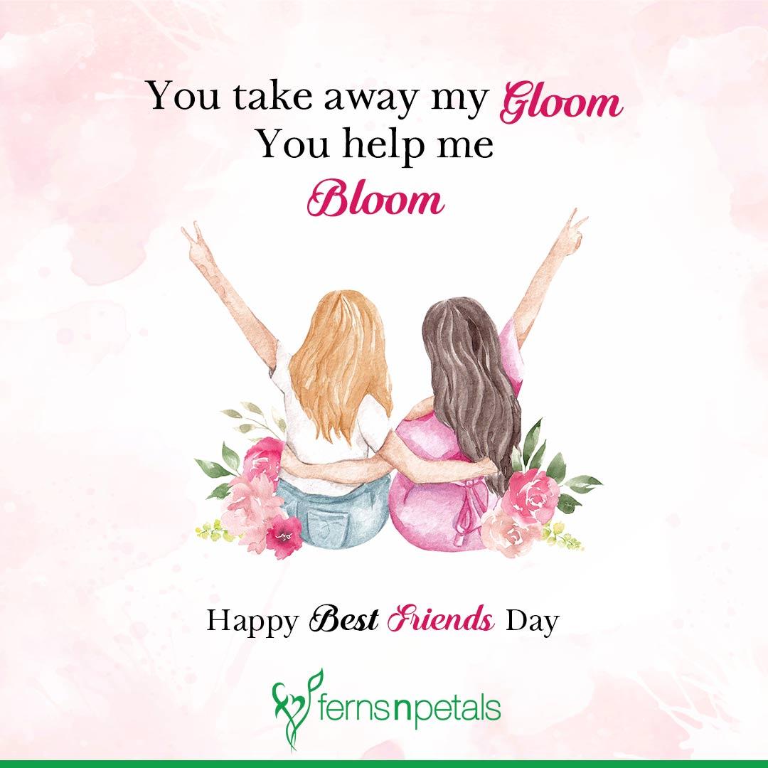 friendship day wish for best friend