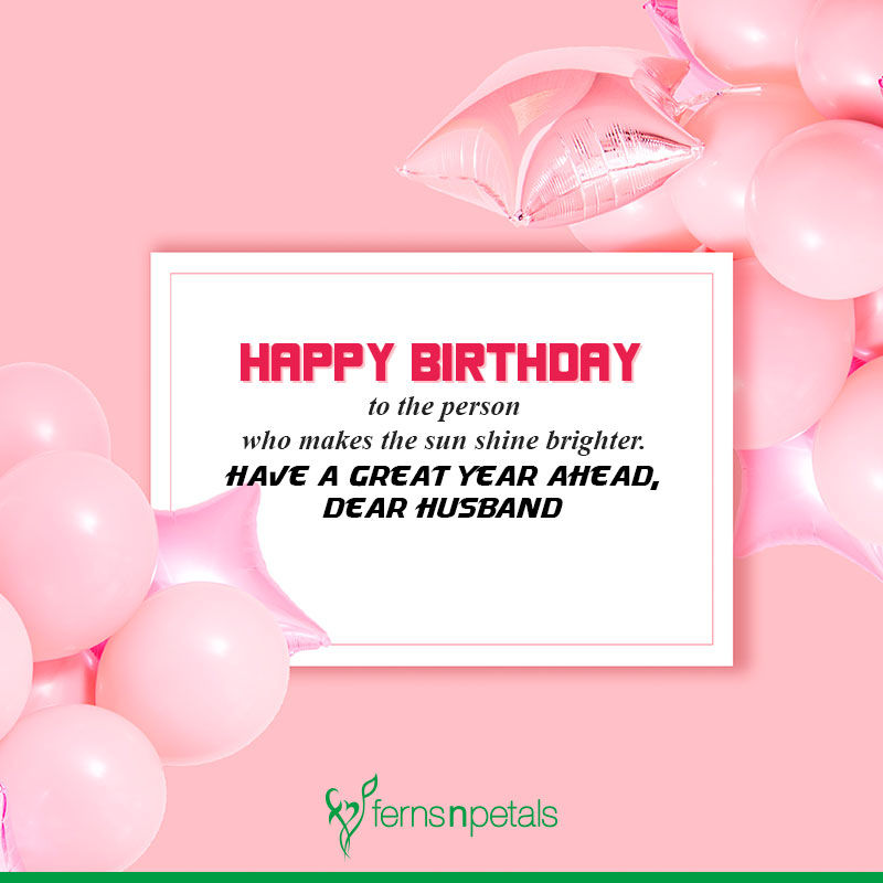 best birthday wishes for husband