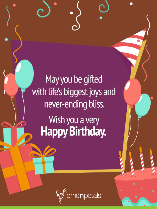 17 Best Images About Birthday Cards On Pinterest: 30+ Best Happy Birthday Wishes, Quotes & Messages