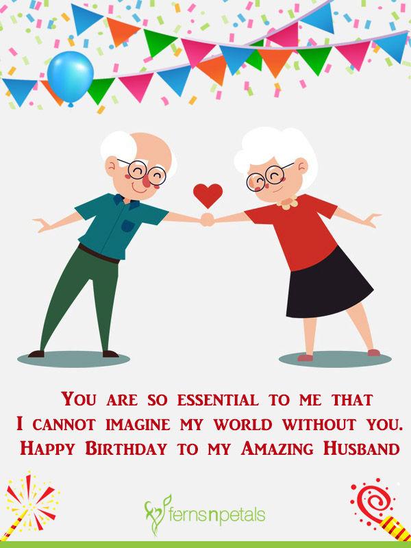 the best husband birthday wishes