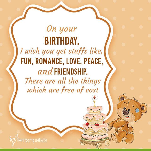 Friend Bday Quotes Best Wishes Birth Day