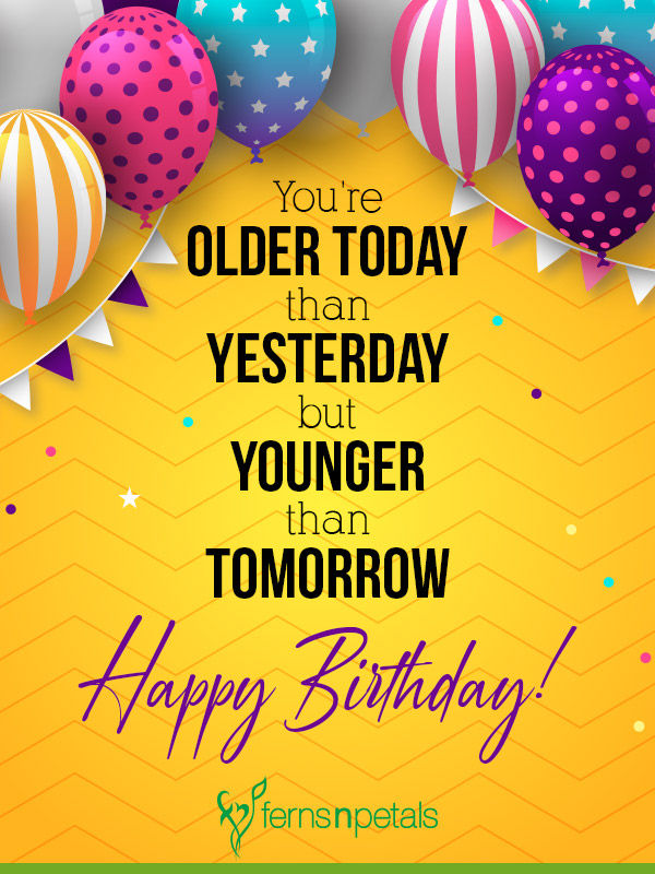 Incredible 90 Happy Birthday Wishes Quotes Messages In 2020 Ferns N Petals Funny Birthday Cards Online Fluifree Goldxyz