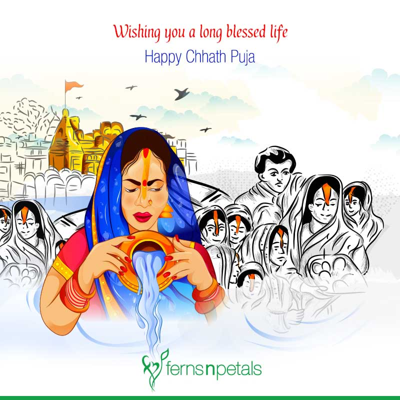 chhath puja wishes in english