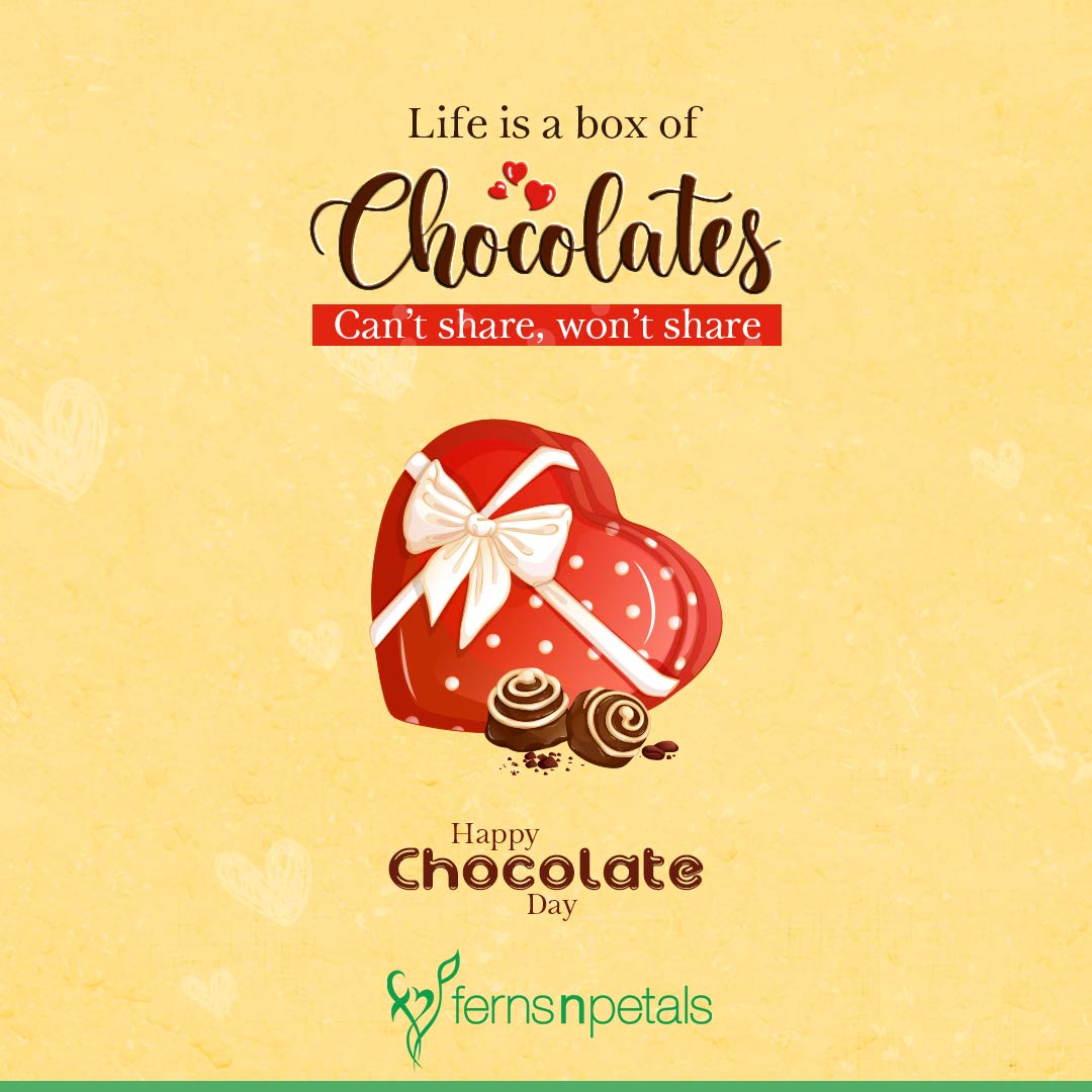 happy chocolate day wishes for friends