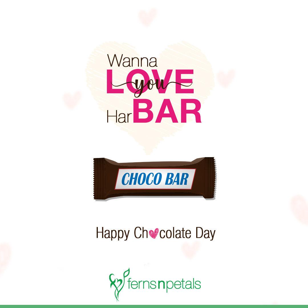 wish you happy chocolate day