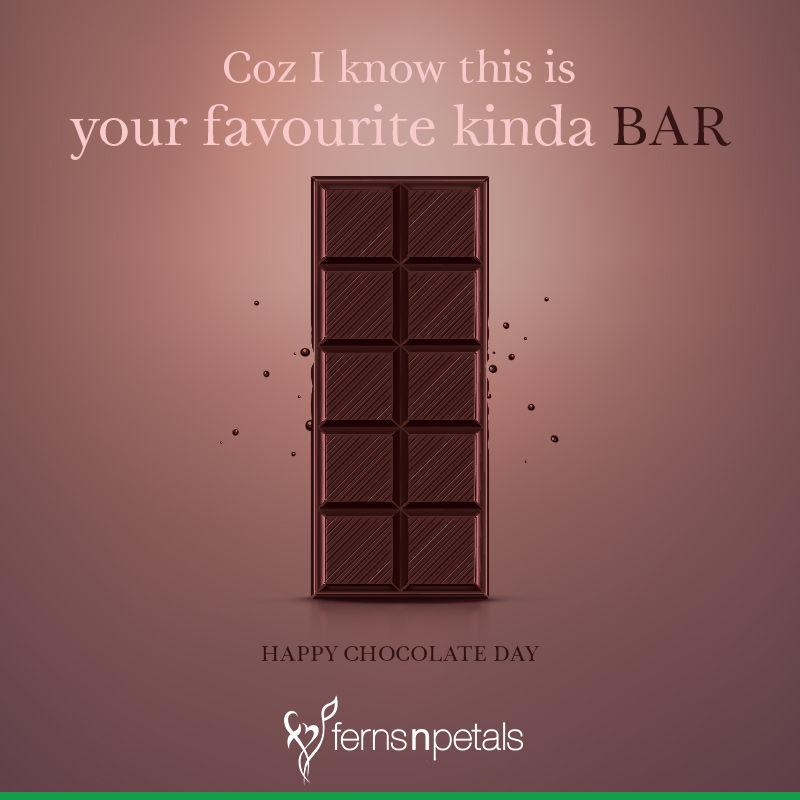 happy chocolate day wish