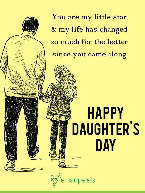 daughters day greetings