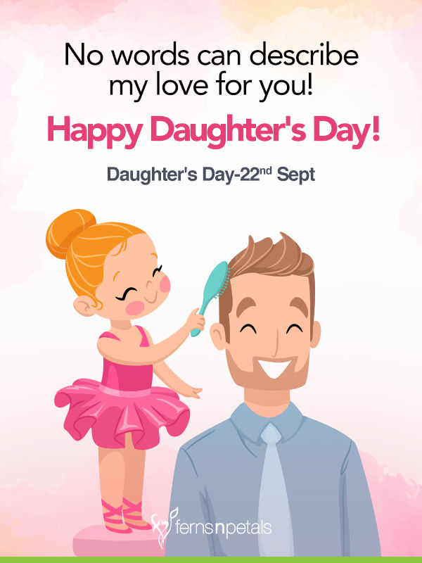 daughters day wishes and images