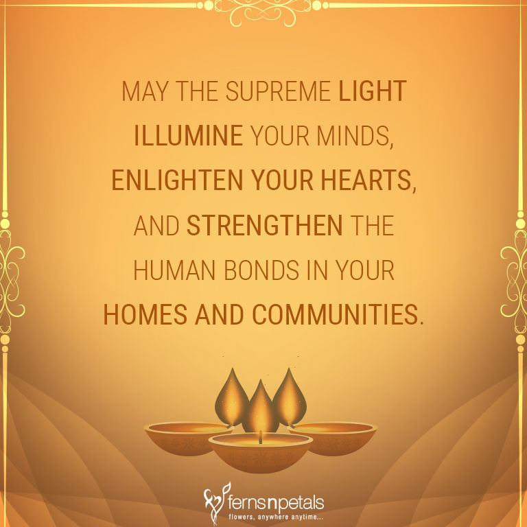 20+ Unique Quotes and Messages to wish Diwali