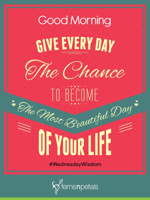 good morning wednesday wishes