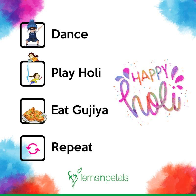 holi wishes images for 2021