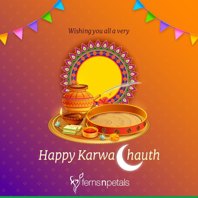 karwa chauth wishes for her