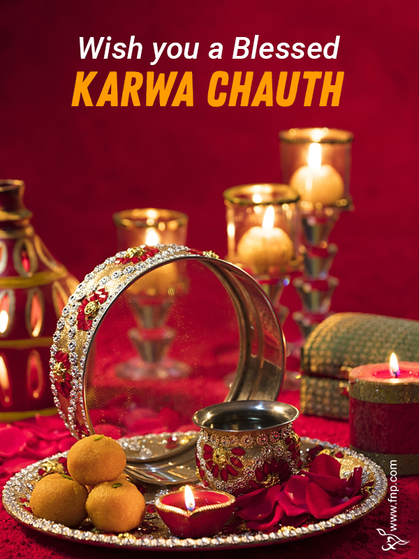 wishing karwa chauth
