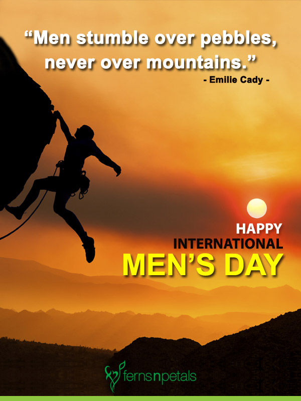 Mens day wishing images for him