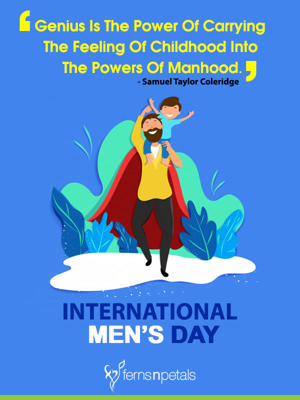 happy mens day images for him