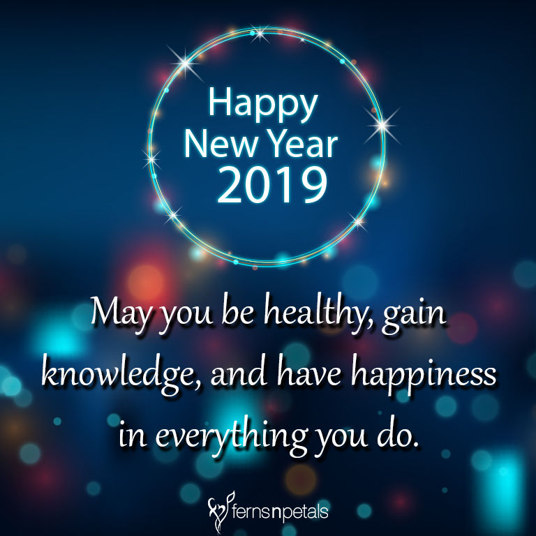20 Unique Happy New Year Quotes 2019 Wishes Messages