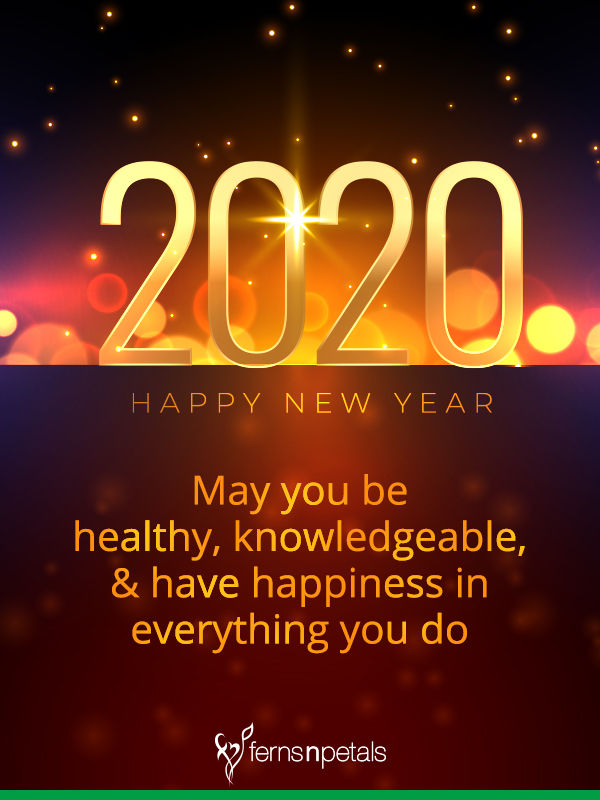 100 happy new year wishes quotes messages online 2021 ferns n petals 100 happy new year wishes quotes