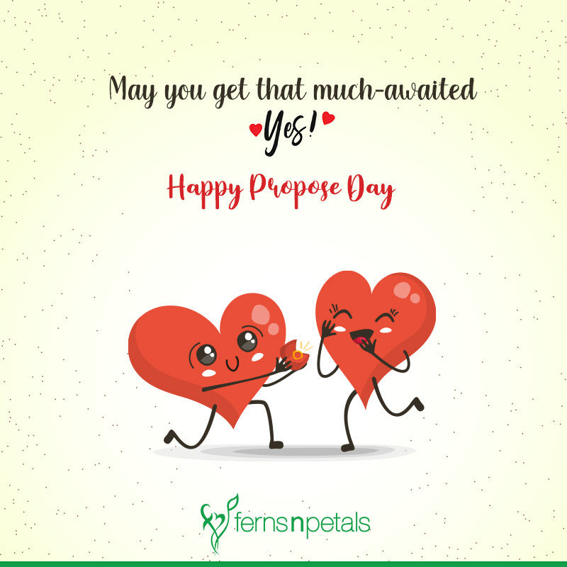 happy propose day for friends