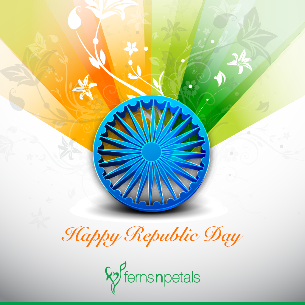 Happy Republic Day Quotes Republic Day Messages And Wishes Ferns N Petals Gif happy republic day 2021 gift