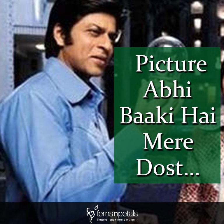 shahrukh khan movies dialogues