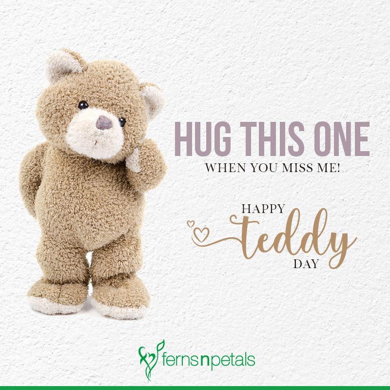 teddy bear day wishes