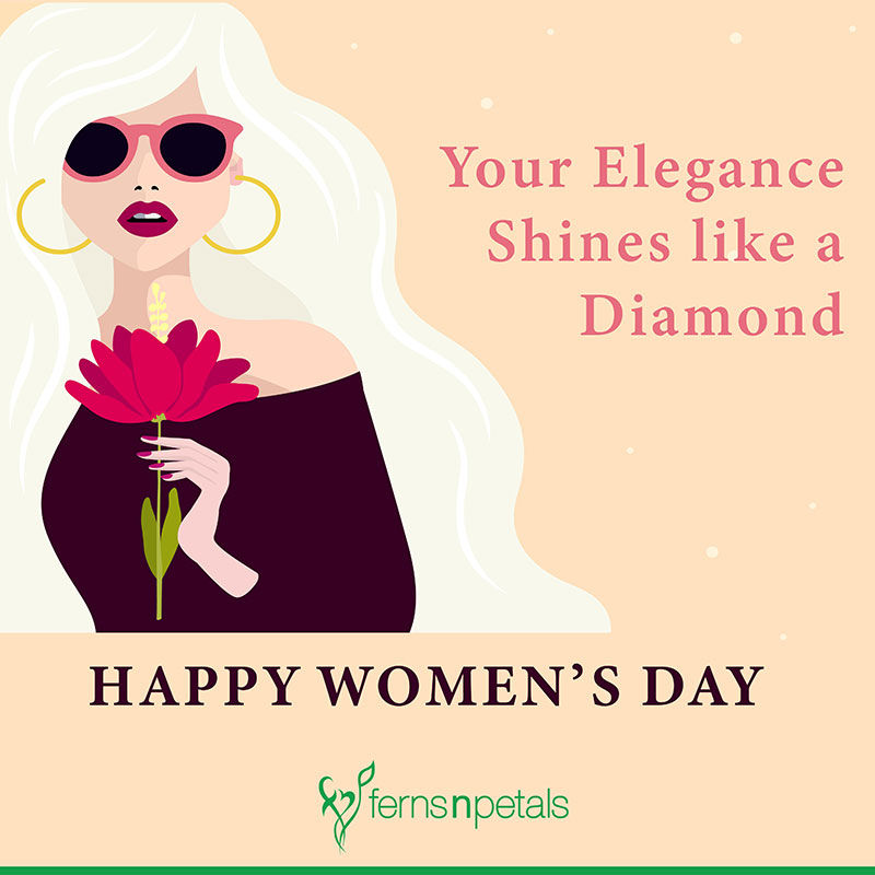 50 Women S Day Quotes Wishes And Messages Ferns N Petals