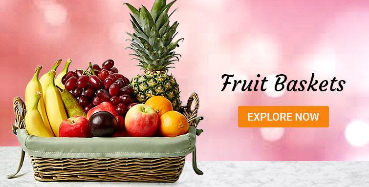 Fruit gift baskets UK
